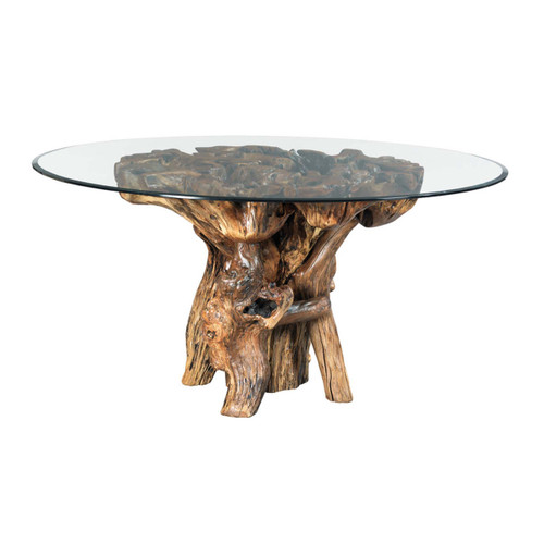 Hidden Treasures Root Ball Dining Table by Hammary