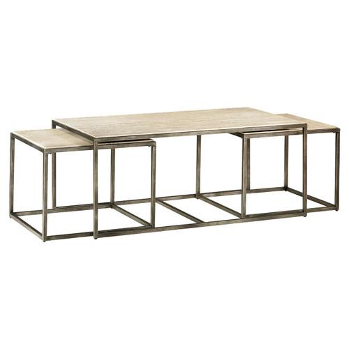Modern Basics Rectangular Cocktail Table by Hammary