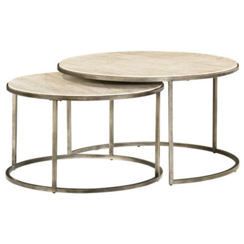 Modern Basics Round Cocktail Table by Hammary