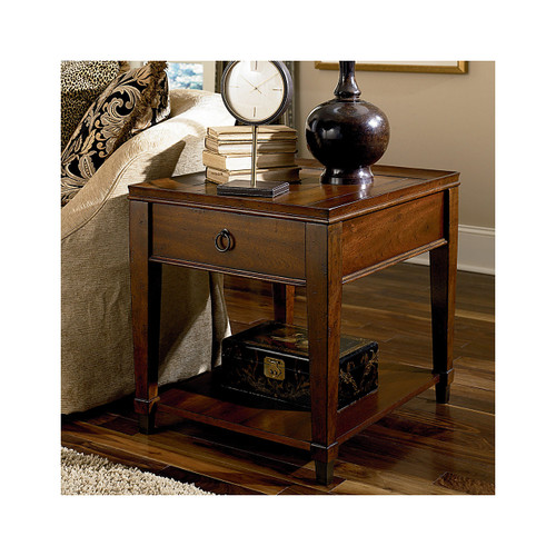 Sunset Valley Rectangular Drawer End Table by Hammary
