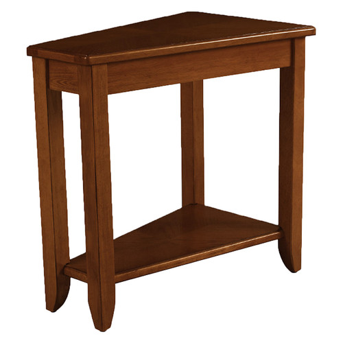 Wedge Chairside Table by Hammary