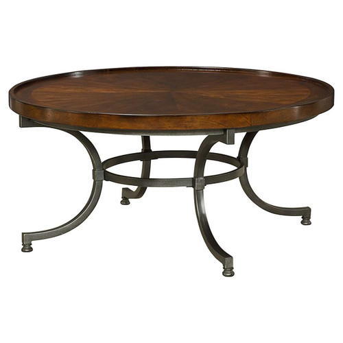 Barrow Round Cocktail Table by Hammary