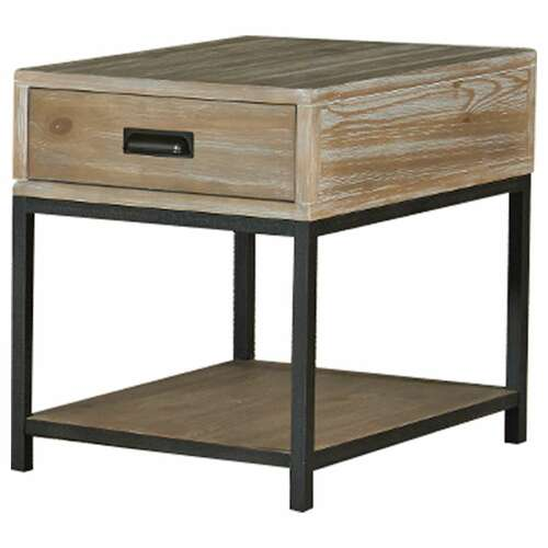 Parsons Rectangular Drawer End Table by Hammary