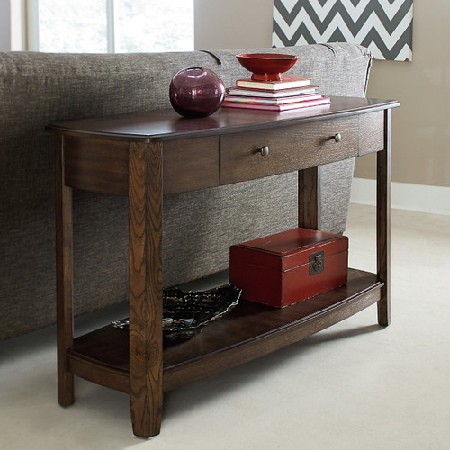 Primo Sofa Table in Graphite by Hammary