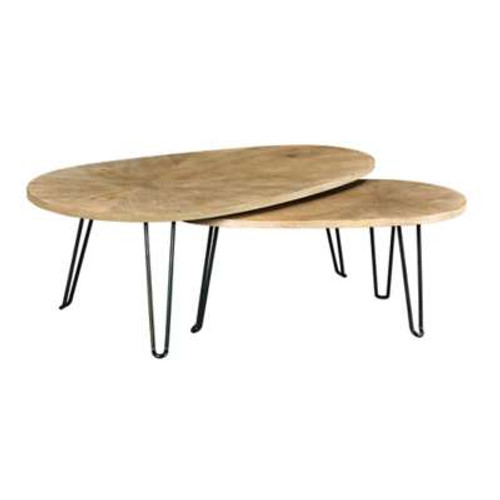 Oblique Bunching Cocktail Table by Hammary