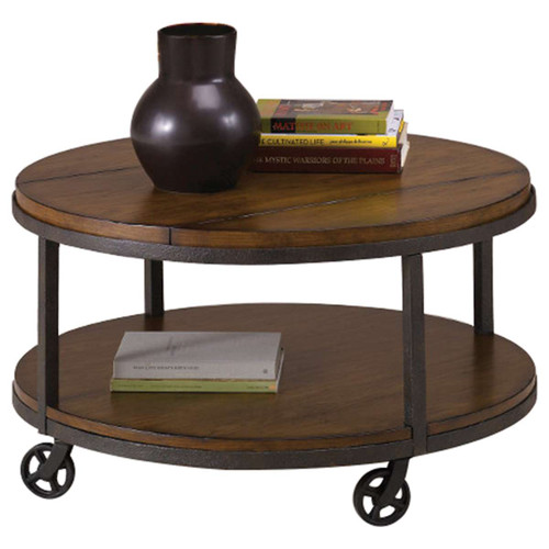 Baja Round Cocktail Table by Hammary