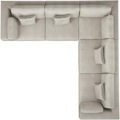 Perry 2 Arm Corner Sofa by Modloft
