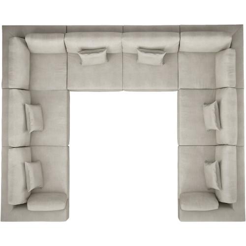 Perry U Sofa by Modloft