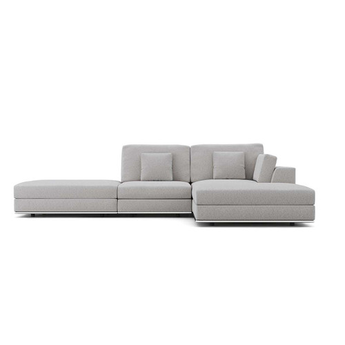 Perry Sectional Open End Sofa with Ottoman by Modloft