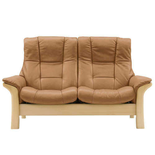 Stressless Buckingham Loveseat, Highback by Ekornes