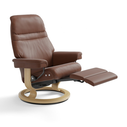 Stressless Sunrise Chair Medium with Power Base by Ekornes
