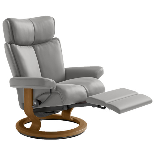 Stressless Magic Chair Medium with Power Base by Ekornes