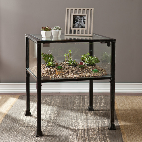 Bronte Terrarium End Table