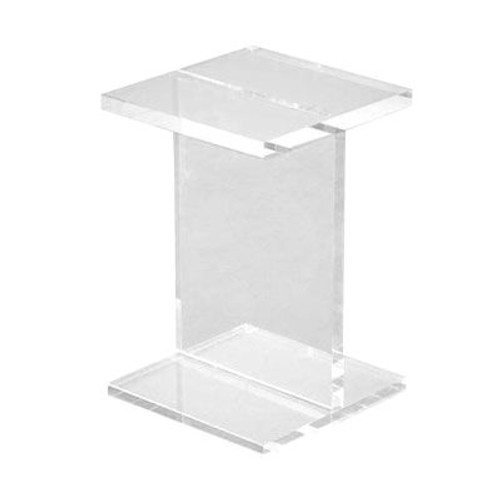 Acrylic I-Beam Table by Gus Modern