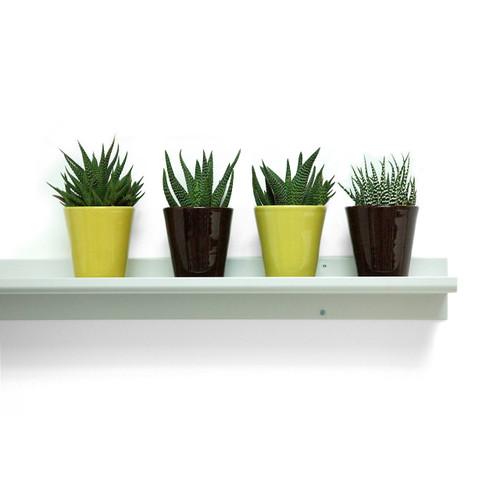 Aluminum Display Shelf by Gus Modern