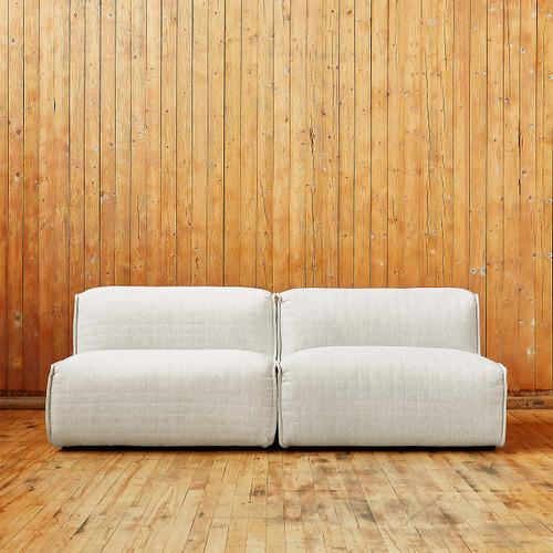 Nexus Two Piece Modular Sofa