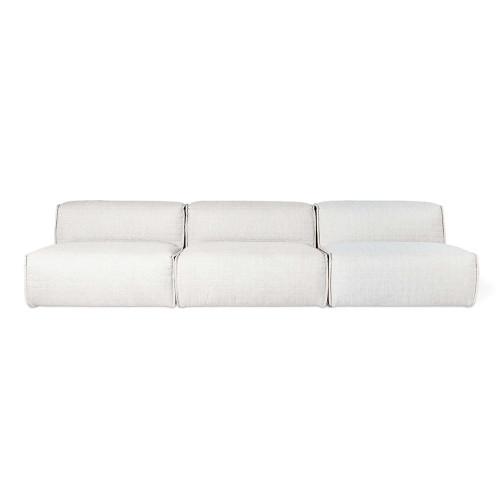 Nexus Three Piece Modular Sectional Sofa