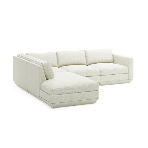 Podium Lounge Sectional A by Gus Modern