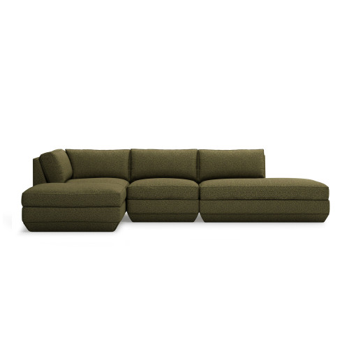 Podium Lounge Sectional B by Gus Modern