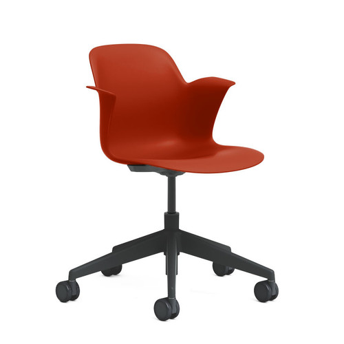 Node Mid Back 5-Star Base Chair by Steelcase