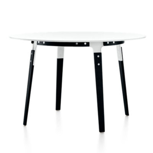 Magis Round Steelwood Table by Magis