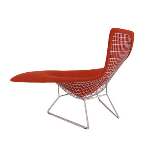 Asymmetric Chaise Lounge, Fully Upholstered by Knoll