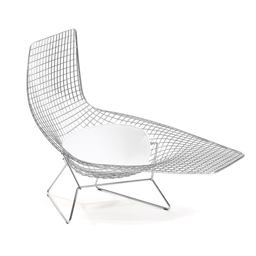 Asymmetric Lounge with Seat Pad by Knoll