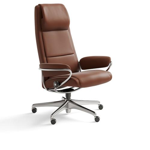 Stressless Paris High Back Office Chair by Ekornes