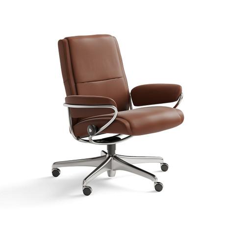 Stressless Paris Low Back Office Chair by Ekornes