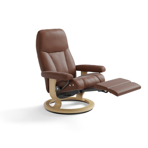 Stressless Consul Chair Large with Power Base by Ekornes