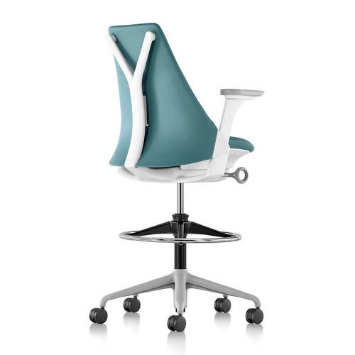 Upholstered Sayl Stool by Herman Miller