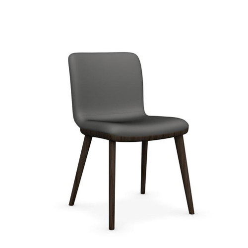 Annie Leather Chair by Calligaris, Set of 2