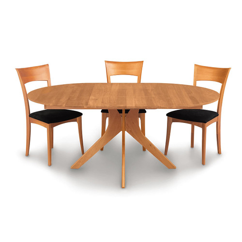 "Audrey 54/78"" w Extension Round Table by Copeland Furniture"