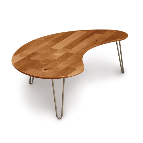Essentials Kidney Shaped Coffee Table by Copeland Furniture