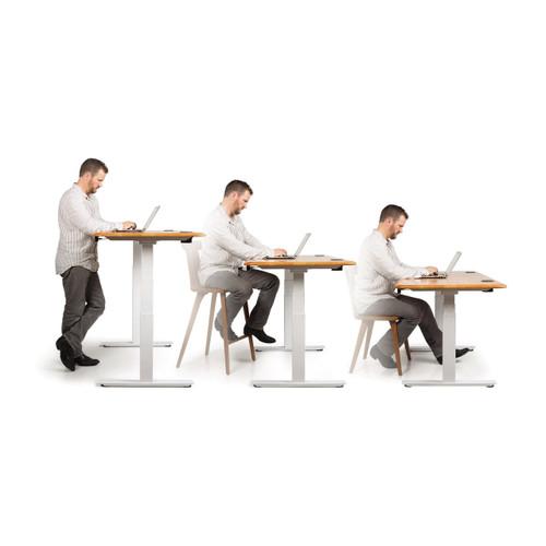 Invigo Rectangular Sit-to-Stand Desk by Copeland Furniture