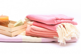 How do you wash Turkish cotton towels for the first time?