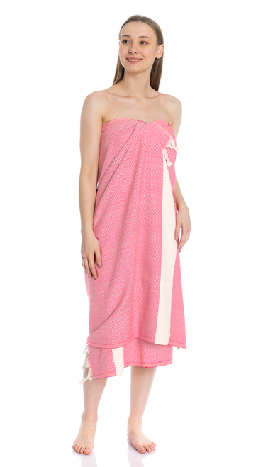 Canadian Towels Classic Handloom 100% Organic Turkish Cotton Towel (Rose)