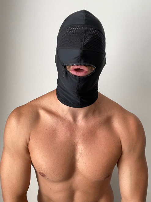 Cellblock 13 BANDIT ZIPPER HOOD BLACK