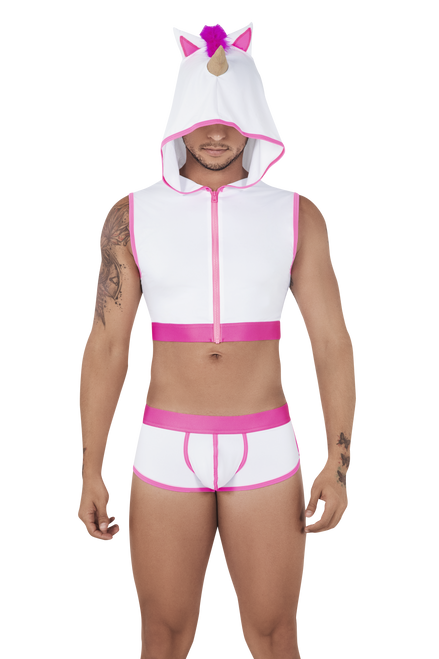 CandyMan 99520 Unicorn Hoodie and Trunks Set