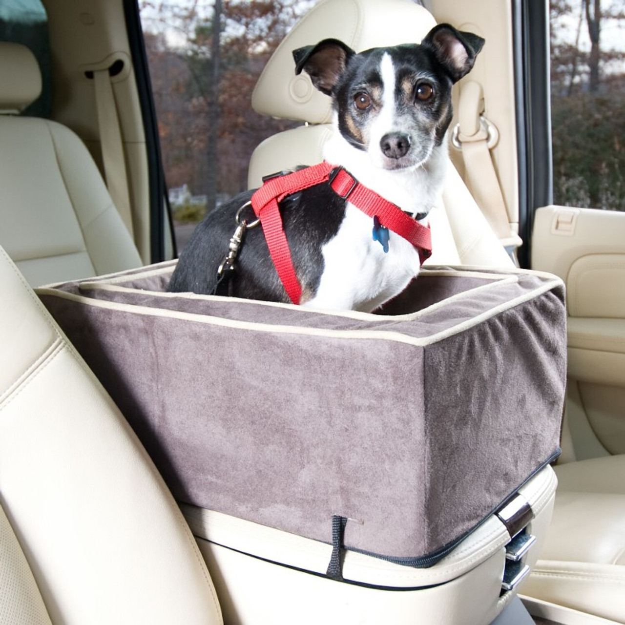 Center Console Dog Car Seat With