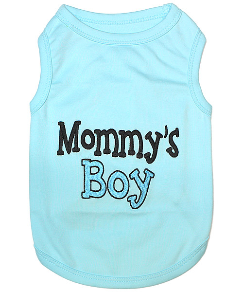 Mommy's Boy 100% cotton and embroidered design
