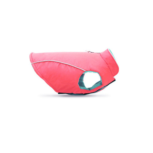 Gooby Pet Sports Vest Pink & Turquoise Dog Coat