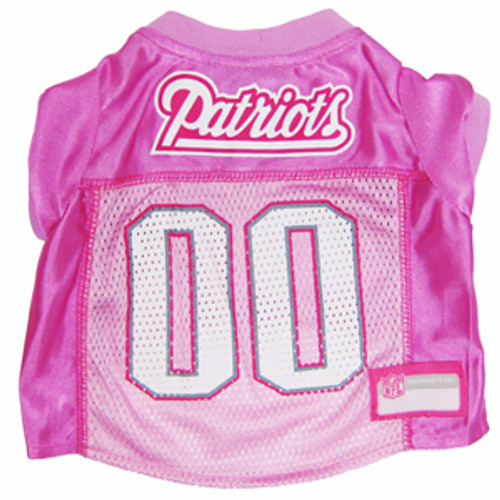 5e8a9fca0 New England Patriots Officially Licensed NFL Pet Jersey (Pink)  24.99