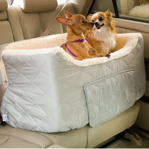 Large Lookout II Dog Car Seat With Storage Tray