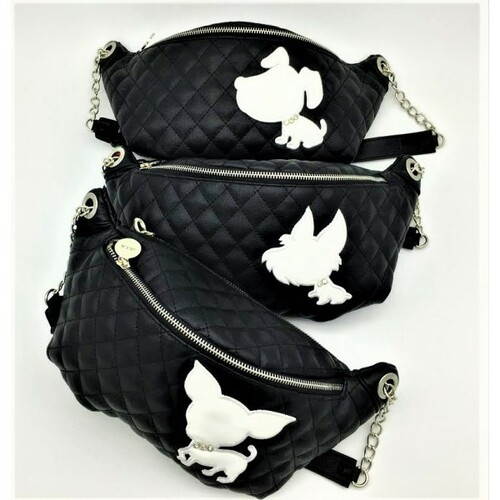 Chihuahua Silhouette Fanny Pack