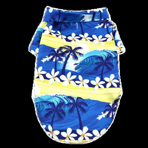Hawaiian Camp Shirt-Catching Waves