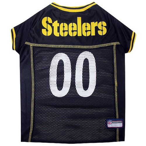 reputable site a9614 ec01f Pittsburgh Steelers Officially Licensed NFL Pet Jersey