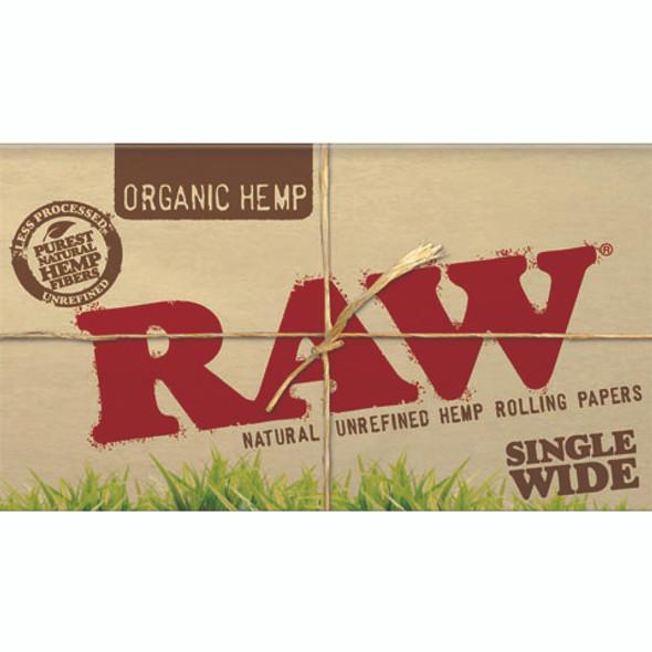 RAW Organic Papers Single Wide Double Window
