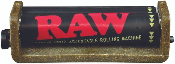 RAW Hemp Adjustable 2-Way Rolling Machine Made With Hemp Plastic W/Bonus Apron 70mm