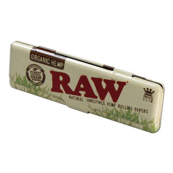 RAW Organic Paper Tin King Size Slim